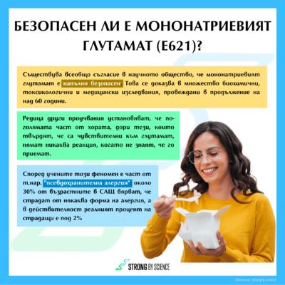 Безопасен ли е мононатриевият глутамат (E621)?