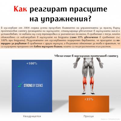 Как реагират прасците на упражнения?