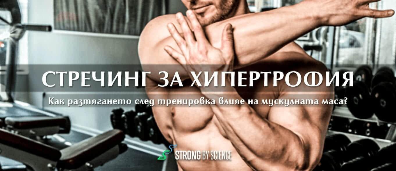 Как стречингът влияе на мускулната маса?