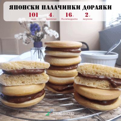 Дораяки – японски палачинки с крем