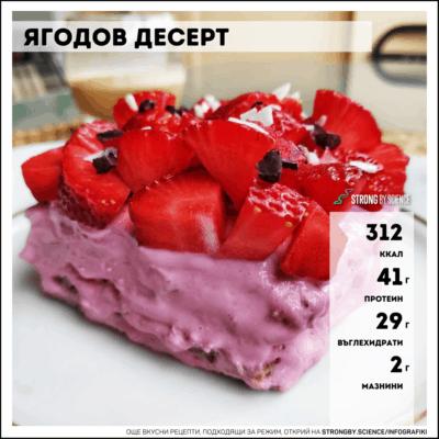 Ягодов десерт